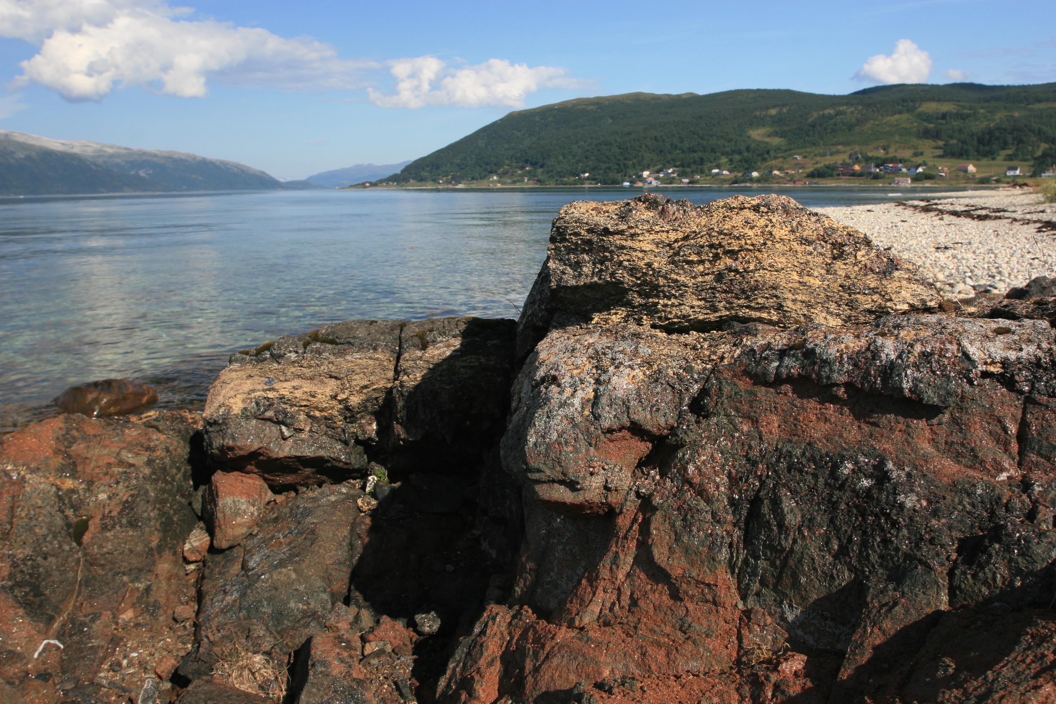 """""""Ultravysokotlakový"""" terén v Nórsku, kde sa diamanty našli"""