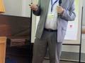 Ján Soták počas prednášky na konferencii GEEWEC 2013