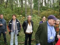Účastníci výletu na hradisko Molpír