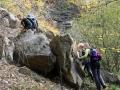 Terénna geologická exkurzia v posledný deň konferencie GEEWEC 2013 v Malých Karpatoch