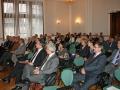 Účastníci Slávnostného kolokvia pri príležitosti 60. výročia založenia GlÚ SAV na Smolenickom zámku