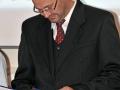 Dušan Starek s ďakovným listom