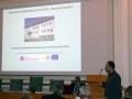 Rastislav Milovský prednáša o Centre excelentného výskumu pre integrovaný výskum geosféry Zeme na Geologickom ústave SAV v Banskej Bystrici
