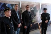 Doc. RNDr. Stanislav Jeleň, CSc., RNDr. Ján Madarás, PhD., RNDr. Pavol Siman, PhD. a Ing. Pavel Zajac pri otvorení výstavy
