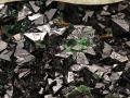 Tabula_15 Drúza rombických kryštálov libethenitu a pseudomalachitu, Ľubietová-Podlipa
