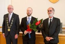 Cena SAV v oblasti medzinárodnej spolupráce v roku 2015 pre Andreja Čerňanského
